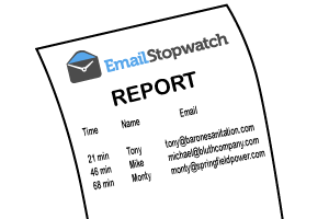 Simple Email Timing Report